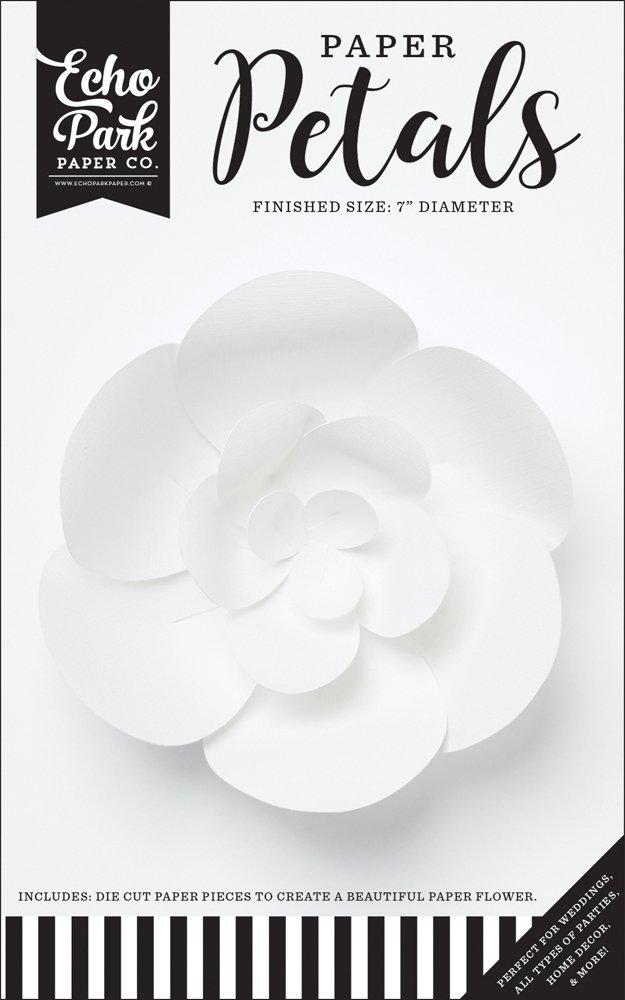 Echo Park - Small White Peony Flower