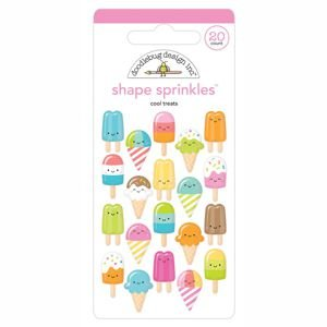Doodlebug - Cool Treats Shape Sprinkles