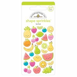 Doodlebug - Fun Fruit Shape Sprinkles