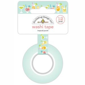 Doodlebug - Tropical Punch Washi Tape