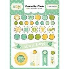 Carta Bella - It's a Boy Decorative Brads