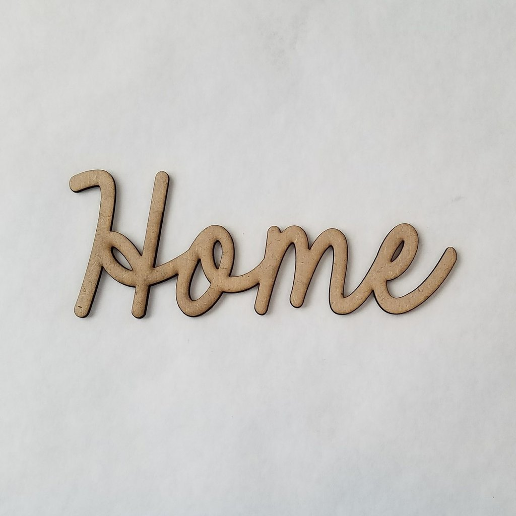 Foundations Decor - Home Smooth Font Word