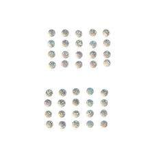 Darice - 7mm Self stick gems Round Crystal AB