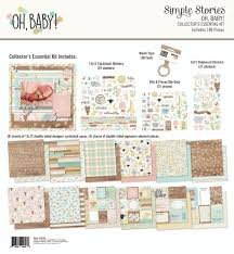 Simple Stories - Oh Baby Collector's Essential Kit