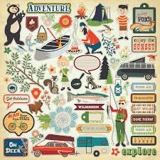 Carta Bella - The Great Outdoors Sticker Sheet
