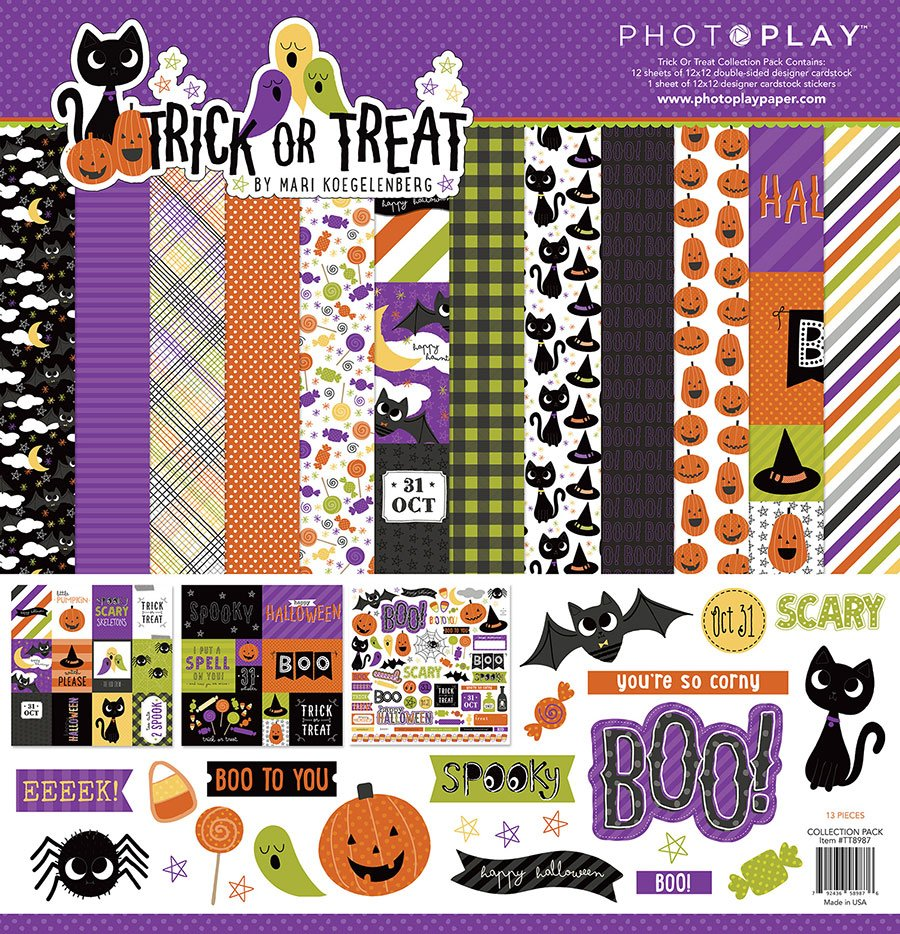 Photo Play - Trick or Treat Collection Pack