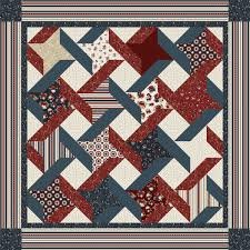 Patriotic Ribbon Quilt Kit (