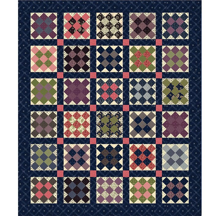 Round Up Quilt kit (Moda) 58-1/2 x 69