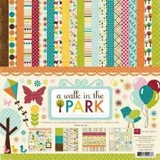 Echo Park - A Walk in the Park Collection Kit 12x12