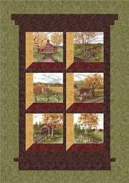 Antler Quilt Design - Country Roads Quilt Pattern