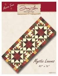 Antler Quilt Design - Mystic Leaves Quilt Pattern