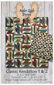 Antler Quilt Design - Classic Rendition 1 & 2 Quilt Pattern