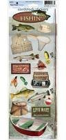 Paper House - Gone Fishing Cardstock Stickers