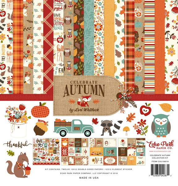 Echo Park - Celebrate Autumn Collection Kit