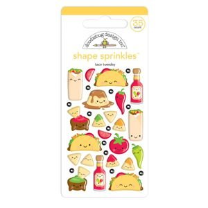 Doodlebug - Taco-Bout Fun Shape Sprinkles