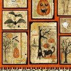 Clothworks - Something Wicked Y2424-55 Multi