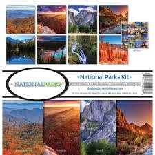 Reminisce - National Parks Collection Kit