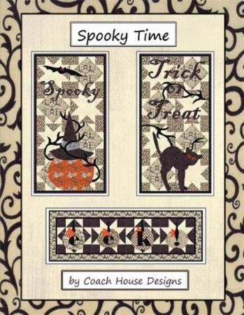 Coach House Designs - Spooky Time Quilt Pattern