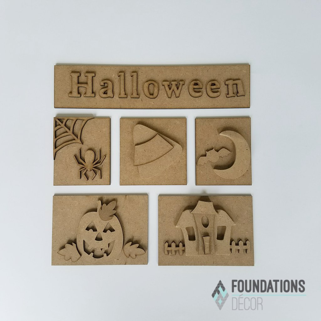 Foundations Decor - Halloween Shadow Box Kit