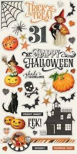 Simple Stories - Simple Vintage Halloween Chipboard Stickers