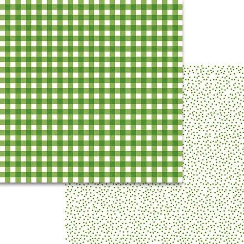 Bella Blvd. - Plaids and Dotty Guacamole 12x12 Paper