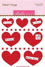 Bella Blvd. - Heart Hugs Wild Berry