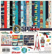 Echo Park - Space Voyager Collection Kit 12x12 Paper