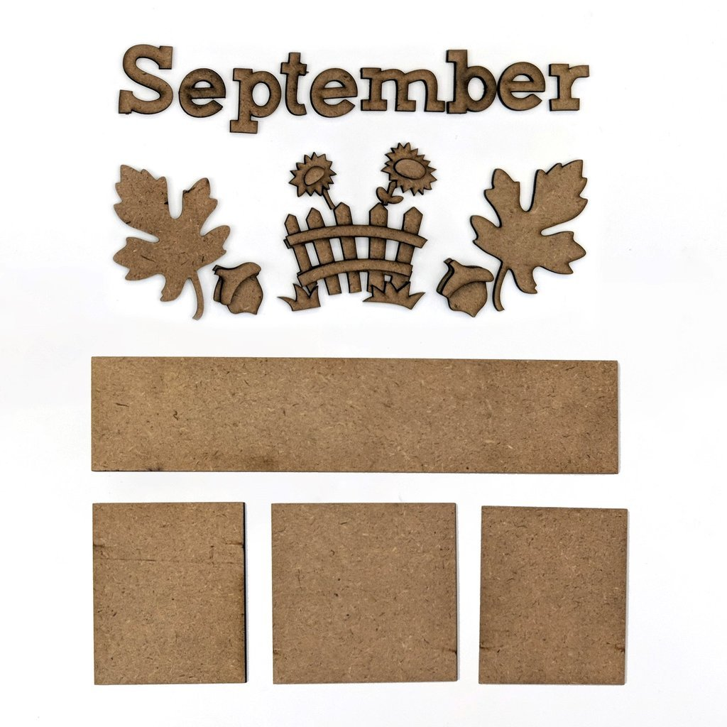 Foundations Decor - September Calendar Kit