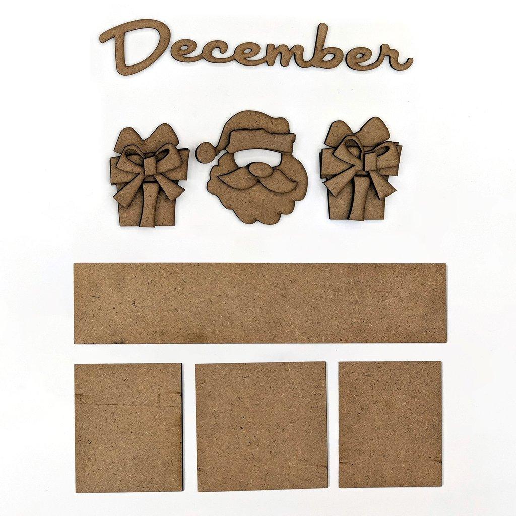 Foundations Decor - December Calendar Kit