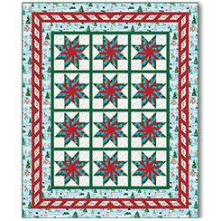 Fun With Rudolp Quilt Kit