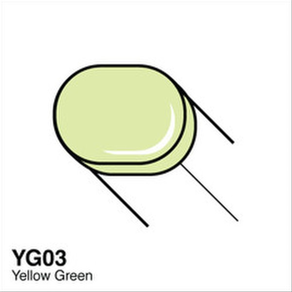 Copic YG03 Yellow Green Sketch Marker