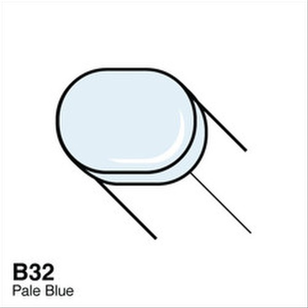 Copic B32 Pale Blue Sketch Marker