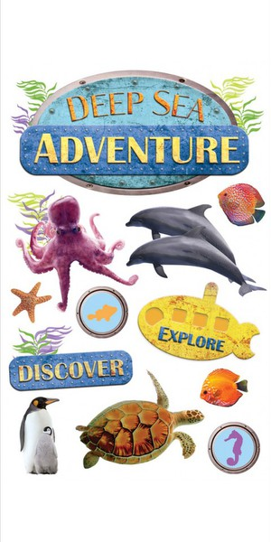 Paper House - Deep Sea Adventure Stickers