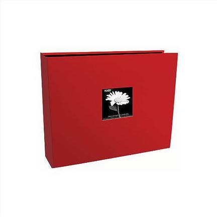 12x12 3 Ring Red Sewn Frame
