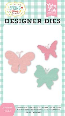 Echo Park - Butterflies Die Set