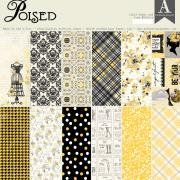 Authentique - Poised 12x12 Paper Pad