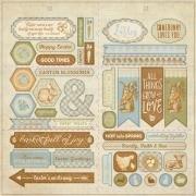 Authentique - Abundant 12x12 Elements