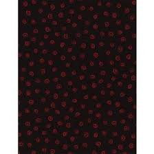 Timeless Treasures - Swirl C1918 Red/Black