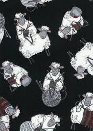 Timeless Treasures - Knit C7587 Black