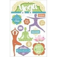 Paper House - Yoga Layered 3D Stickers