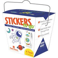 Paper House - Space Stickers 4 Feet