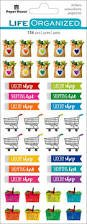 Paper House - Grocery Life Organized Stickers