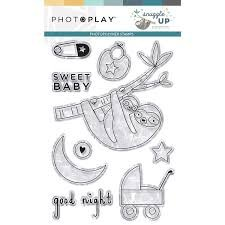Photo Play - Snuggle Up Boy PhotoPolymer Stamps