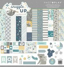 Photo Play - Snuggle Up Boy Collection Kit 12x12