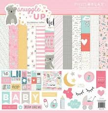 Photo Play - Snuggle up Girl Collection Pack 12x12