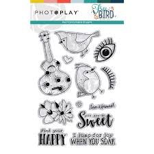 Photo Play - Free Birds PhotoPolymer Stamps