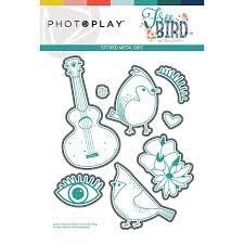 Photo Play - Free Bird Etched Dies