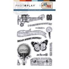 Photo Play - Here & There PhotoPolymer Stamps