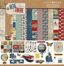 Photo Play - Here & There Collection Kit 12x12
