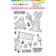 Photo Play - Easter Trail PhotoPolymer Stamp